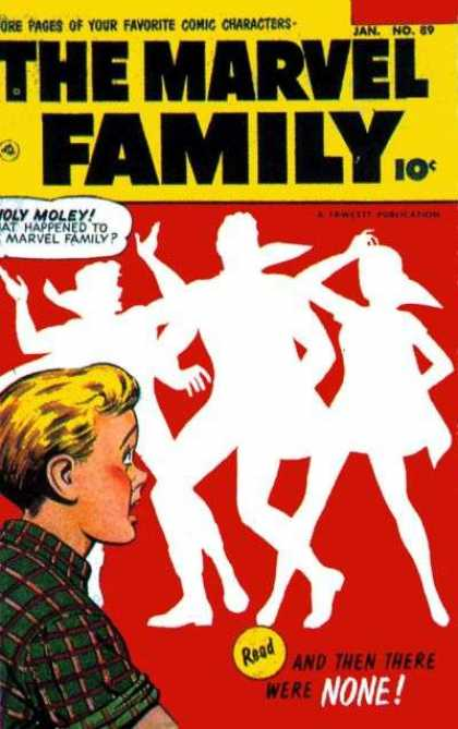 Marvel Family 89 - More Pages Of Your Favorite Comic Characters - Janno89 - And Then There Were None - Boy - Shadows