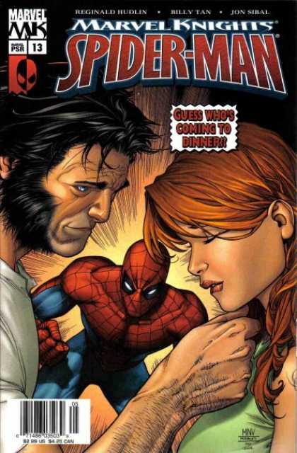 Marvel Knights Spider-Man 13 - Morry Hollowell, Steve McNiven