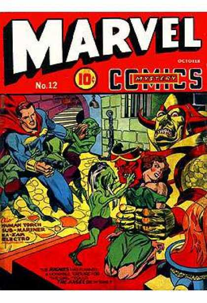 Marvel Mystery Comics 12