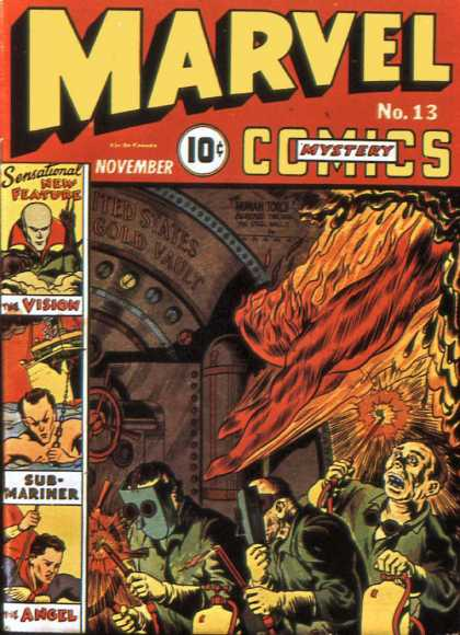 Marvel Mystery Comics 13