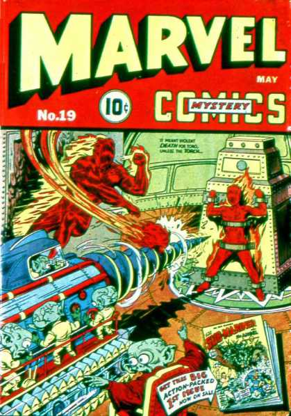 Marvel Mystery Comics 19