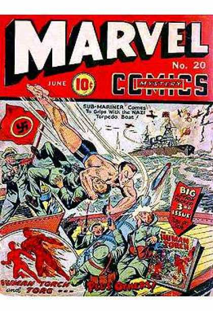 Marvel Mystery Comics 20