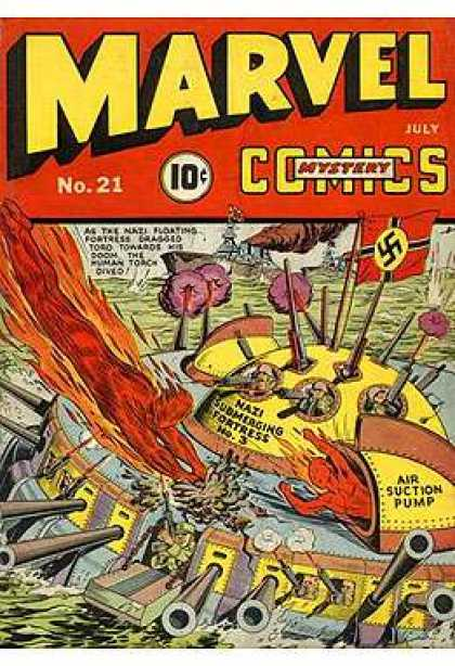 Marvel Mystery Comics 21