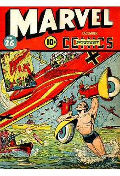 Marvel Mystery Comics 26 - Marvel - Marvel Comics - Sub-mariner - German - War