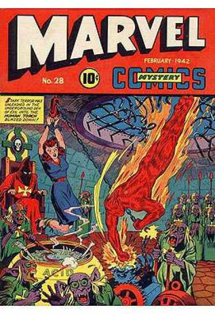 Marvel Mystery Comics 28