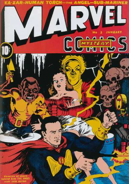 Marvel Mystery Comics 3