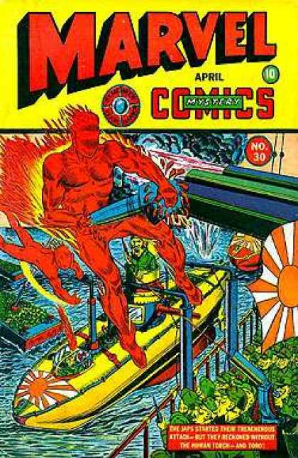 Marvel Mystery Comics 30
