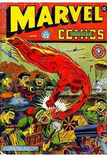 Marvel Mystery Comics 32