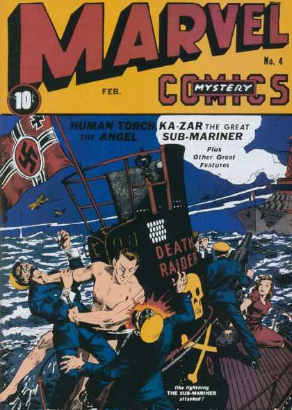 Marvel Mystery Comics 4