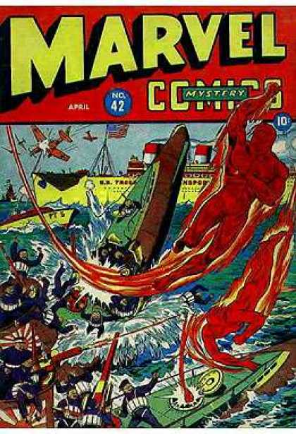 Marvel Mystery Comics 42