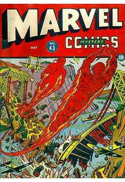 Marvel Mystery Comics 43