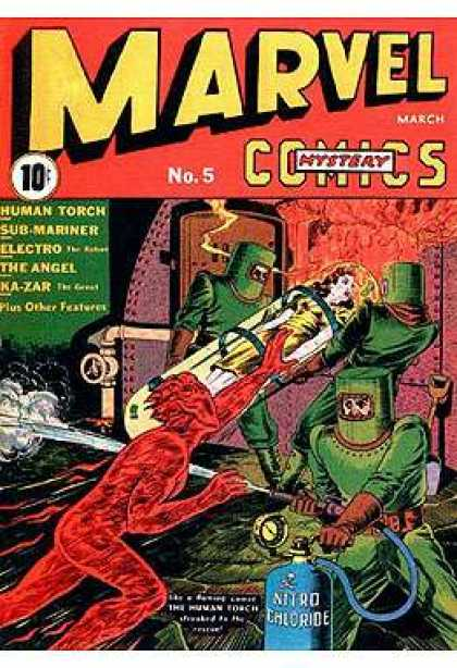Marvel Mystery Comics 5