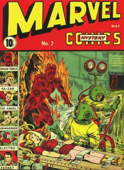 Marvel Mystery Comics 7
