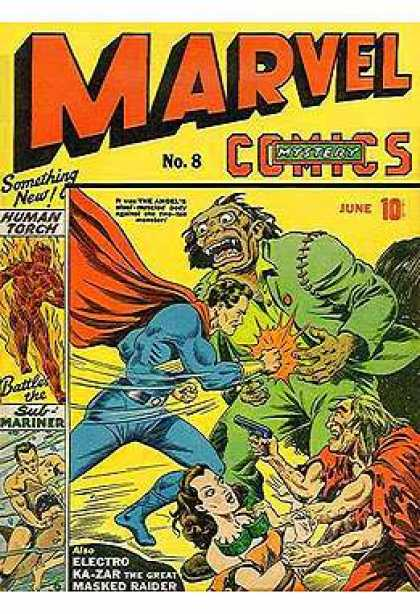 Marvel Mystery Comics 8