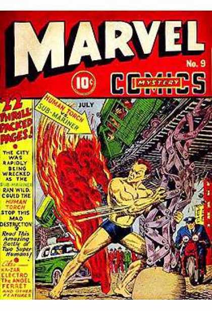 Marvel Mystery Comics 9