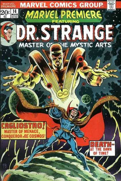 Marvel Premiere 14 - Dr Strange - Master Of The Mystic Arts - Death At The Dawn Of Time - Master Of Menace - Cagliostro