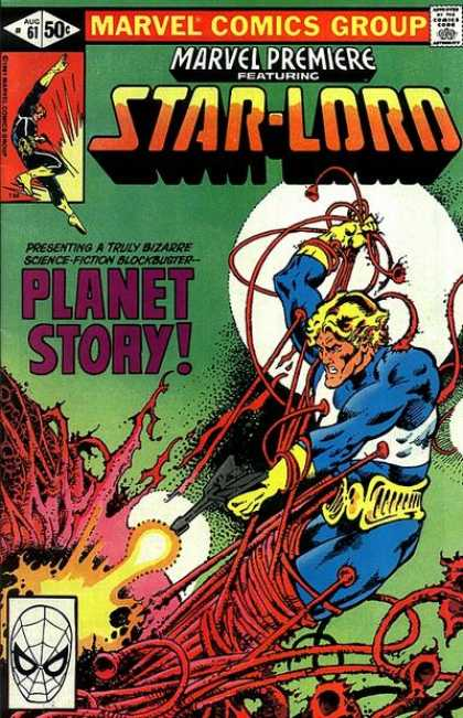 Marvel Premiere 61 - Tenticles - Star-lord - Truly Bizarre Science-fiction Blockbuster - Planet Story - Laser