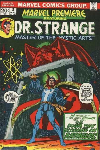Marvel Premiere 8 - Drstrange - 20c - 8 May 02142 - Marvel Comics Group - Doom That Bloomed On Kathulos - Jim Starlin