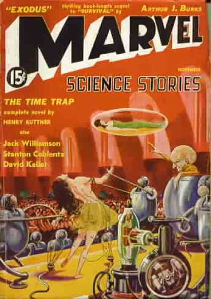 Marvel Science Fiction 4