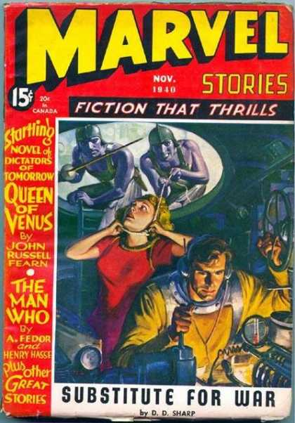 Marvel Science Fiction 9