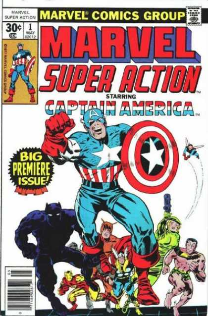 Marvel Super Action 1 - Jack Kirby