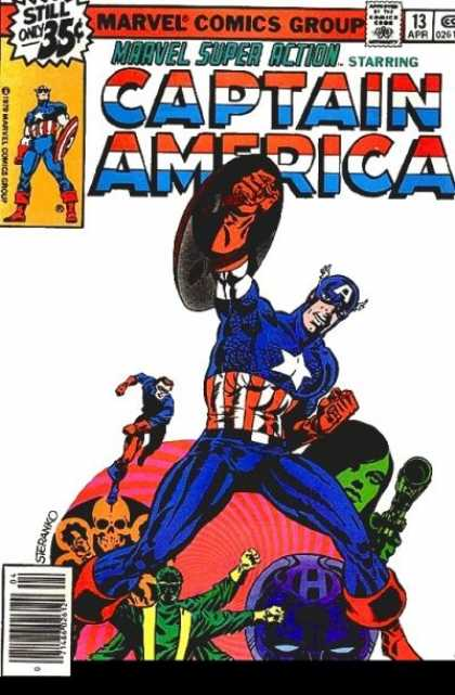 Marvel Super Action 13 - Jim Steranko