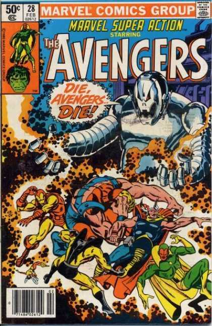 Marvel Super Action 28 - Sal Buscema