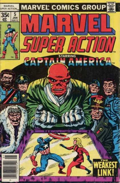 Marvel Super Action 5 - Jack Kirby