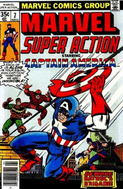 Marvel Super Action 7