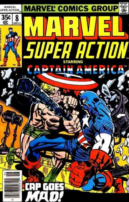 Marvel Super Action 8 - Jack Kirby
