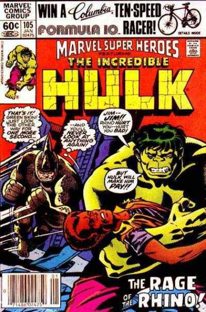 Marvel Super-Heroes 105