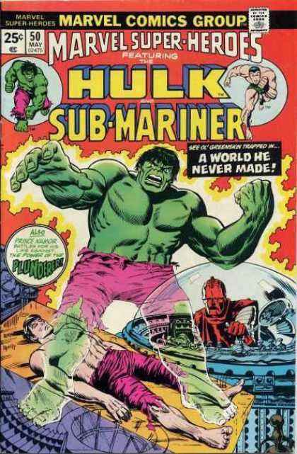 Marvel Super-Heroes 50