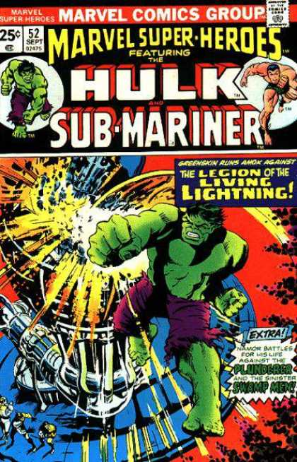 Marvel Super-Heroes 52