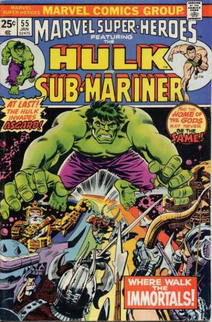 Marvel Super-Heroes 55
