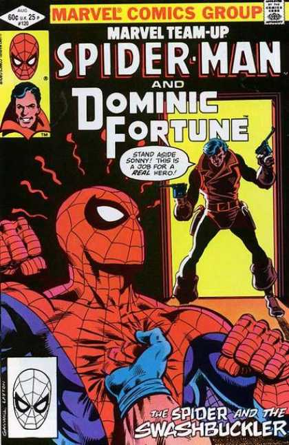 Marvel Team-Up 120 - Marvel - Marvel Comics - Spider-man - Dominic Furtune - Swashbuckler - Bob Layton, Kerry Gammill