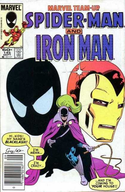 Marvel Team-Up 145 - Spider Man - Iron Man - Whip - Backlash - Spider-man And Iron Man - Bob Layton