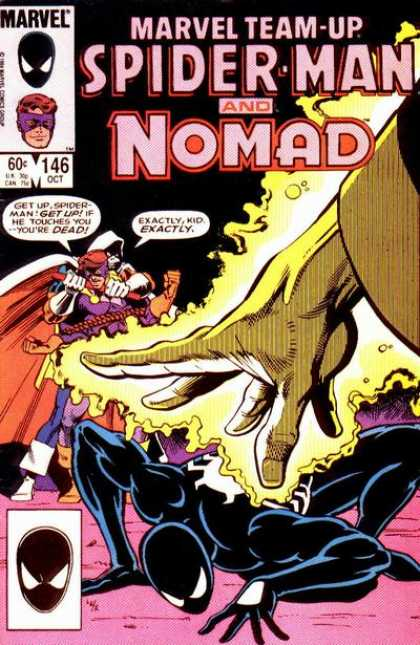 Marvel Team-Up 146 - Spiderman - Nomad - Dead - Get Up - Exactly - Josef Rubinstein
