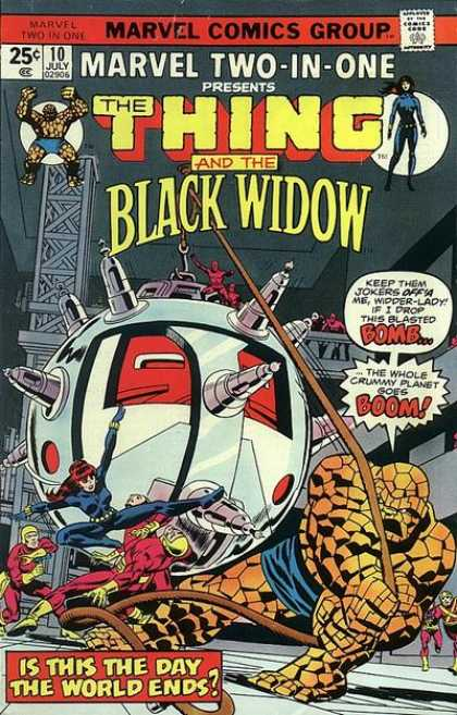 Marvel Two-In-One 10 - Marvel - Marvel Comics - Fantastic Four - The Thing - Black Widow