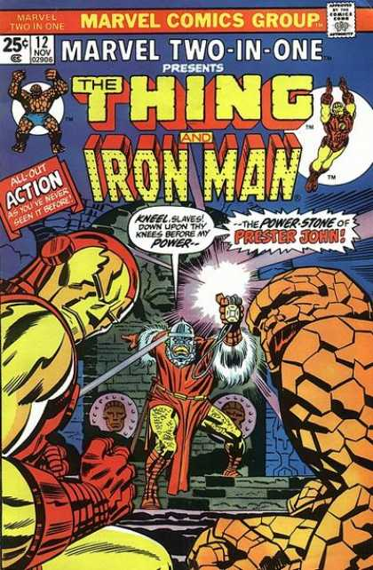 Marvel Two-In-One 12 - Jack Kirby