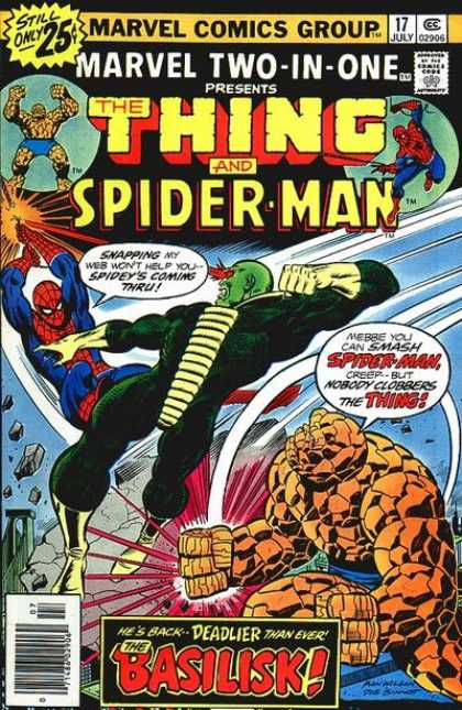 Marvel Two-In-One 17 - Joe Sinnott