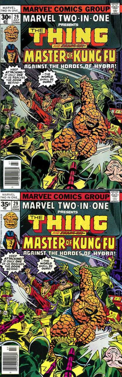 Marvel Two-In-One 29 - Richard Buckler