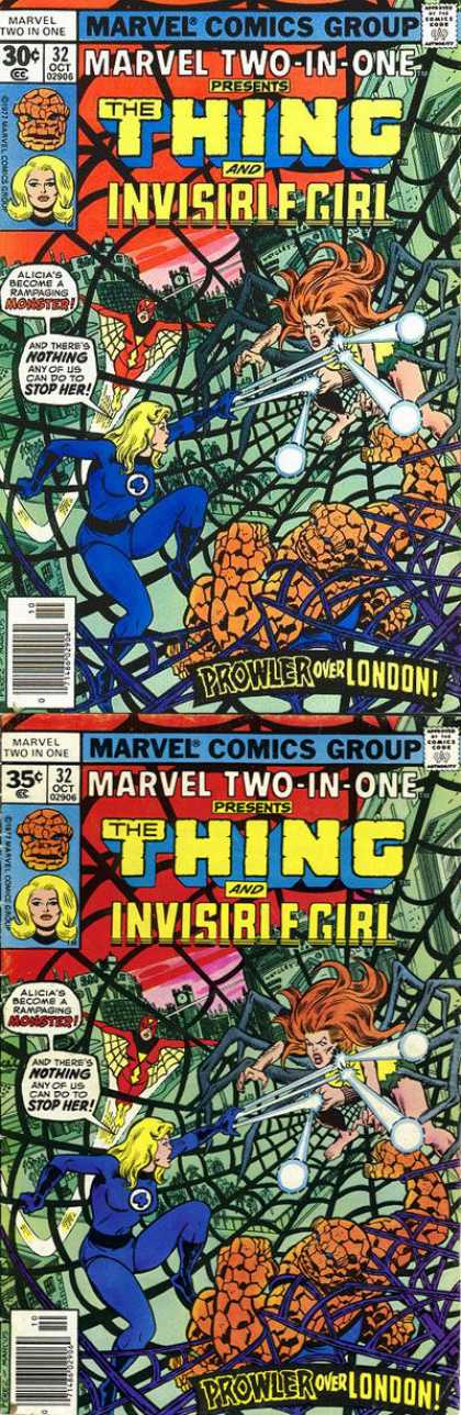 Marvel Two-In-One 32 - George Perez