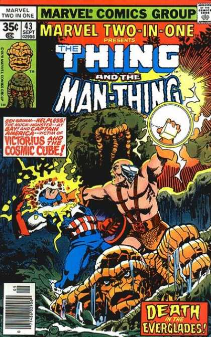 Marvel Two-In-One 43 - Jungle - Amazon - Creatures - Super Power - Thunder - John Byrne, Walter Simonson