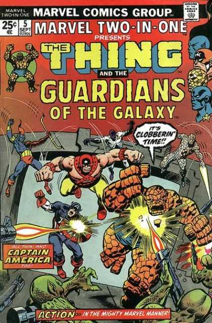 Marvel Two-In-One 5 - Sal Buscema