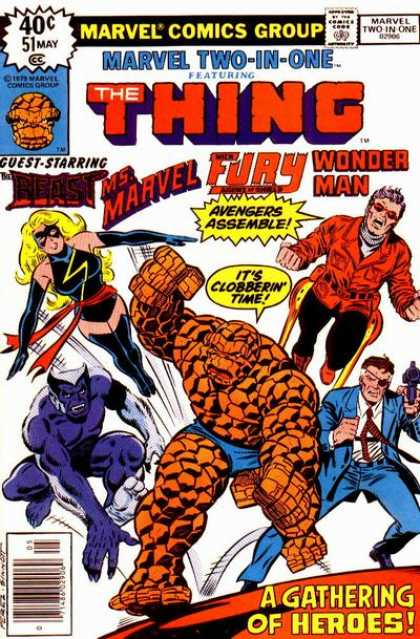 Marvel Two-In-One 51 - George Perez