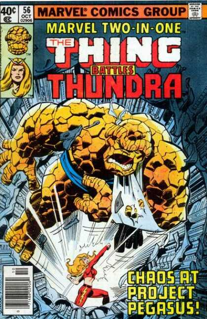Marvel Two-In-One 56 - Thing - Marvel - Tundra - Danger - Chaos - John Byrne