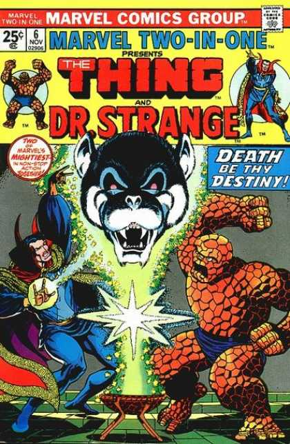 Marvel Two-In-One 6 - Jim Starlin