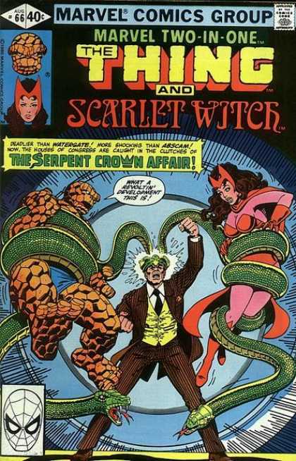 Marvel Two-In-One 66 - The Thing - Scarlet Witer - Hulk - The Serpent Crown Affair - Development - George Perez