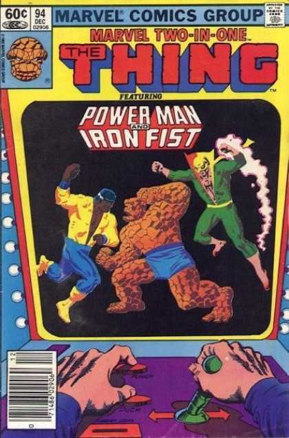 Marvel Two-In-One 94 - Marvel - Thing - Power Man - Iron Fist - Comics