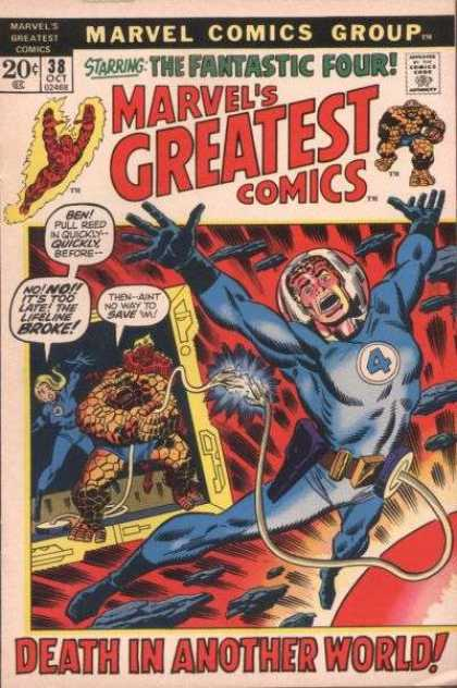 Marvel's Greatest Comics 38 - Classic Parallel Universe - Radioactive Demension - Salvation And Death - Volcanic World - Enemies Aflame - Sal Buscema